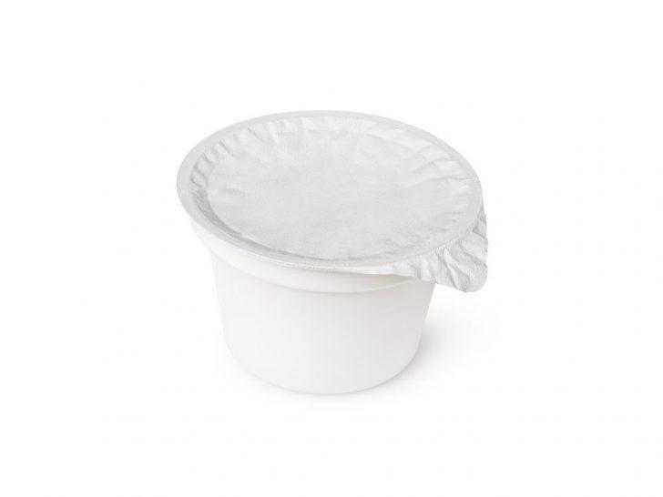 Pojemnik jogurtowy okrągły