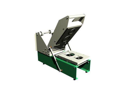 Manual tray sealing machine